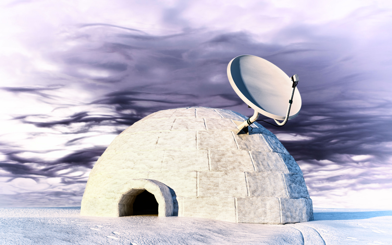 télévision satellite
